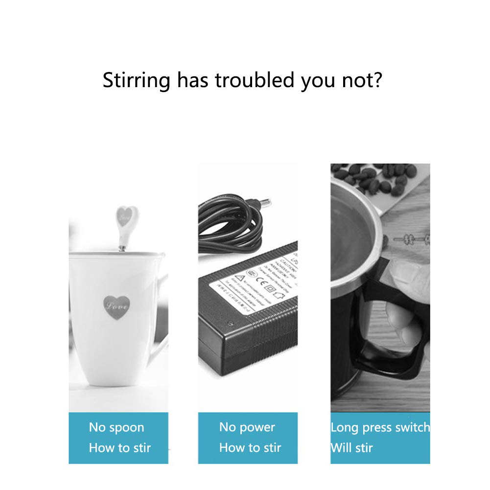 Temperature Difference Self Stirring Coffee Cup