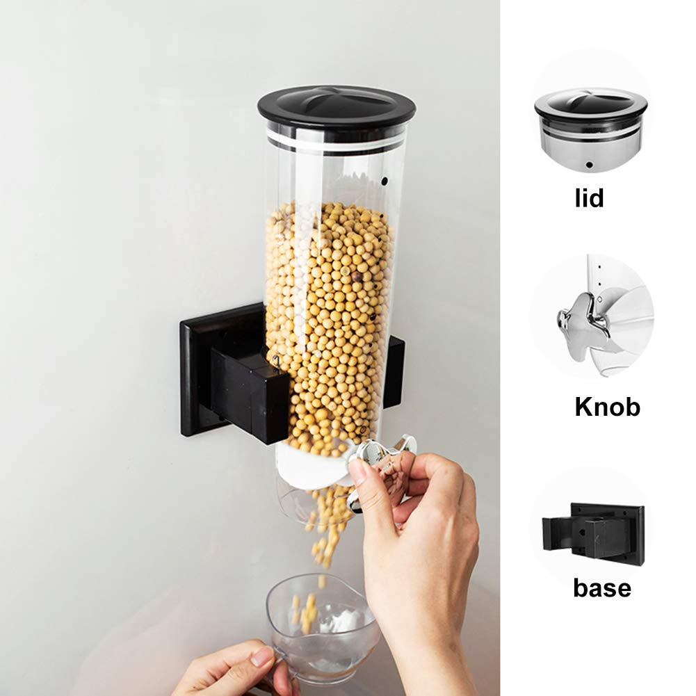 Wall Mount Cereal Dispenser