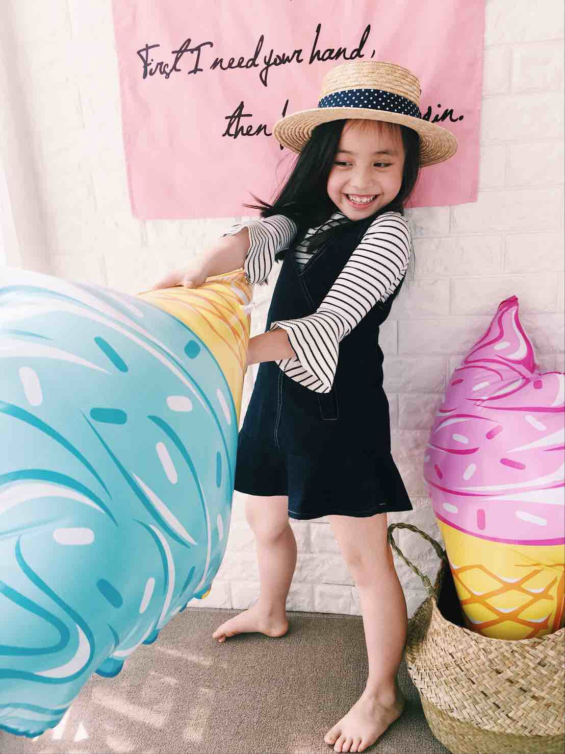 Ice cream swimming ring(20%OFF!)