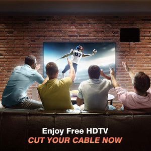 2019 Newest Indoor Digital TV Antenna for Freeview Local Channels(US delivery)