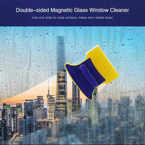 Double side window cleaner