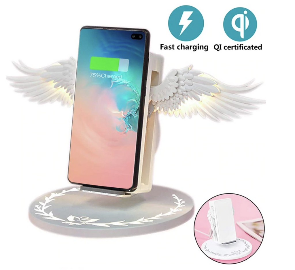 ANGEL WING WIRELESS CHARGER (FREE SHIPPING)