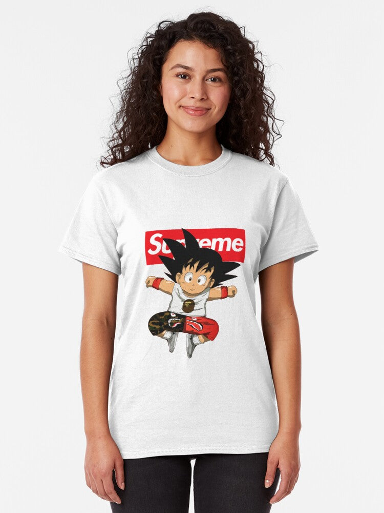 Unisex Dragon Ball Z Goku 3D Graphic Printed T-Shirt