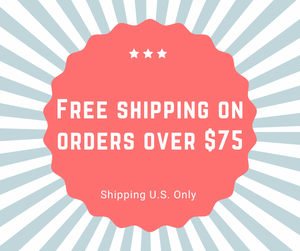 free shipping on $75 orders