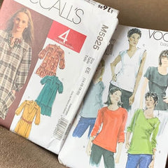 mccalls and vogue sewing patterns