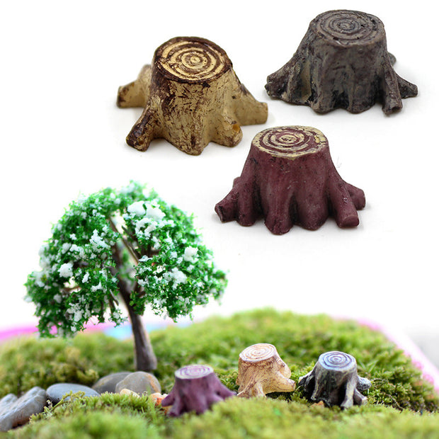 Miniature Tree Stump