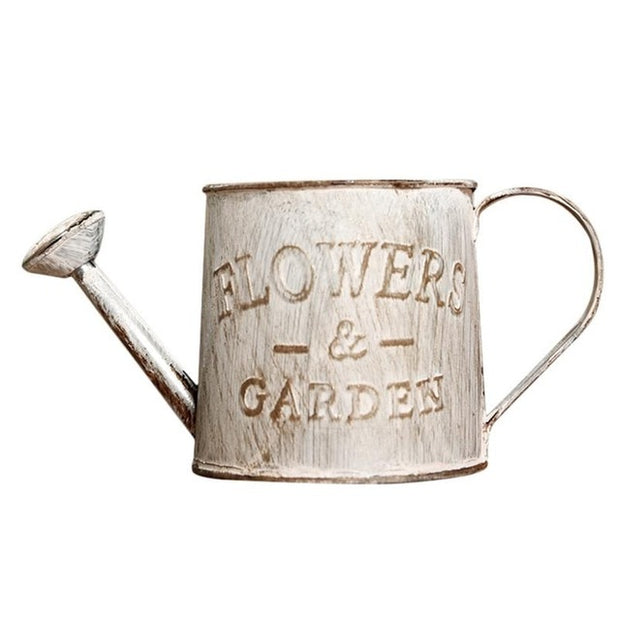 Vintage Watering Bucket Pot