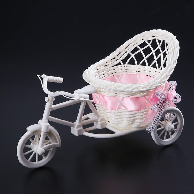 Rattan Tricycle Basket