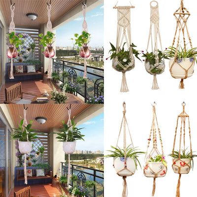 Hanging Rope Basket