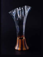 Load image into Gallery viewer, MacKenzie-Childs Glass Vase