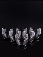 Load image into Gallery viewer, Vintage Cocktail or Water Glasses. Set of 6
