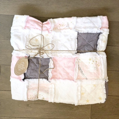 Modern Rag Quilt- The Stella