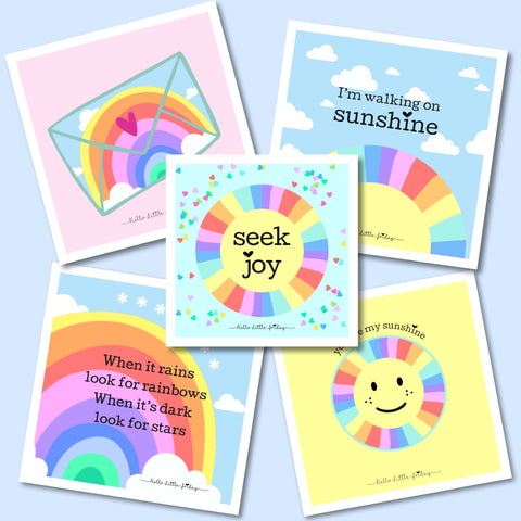 🎉THE JOY SEEKERS 🎉10 pack of mini JOY cards