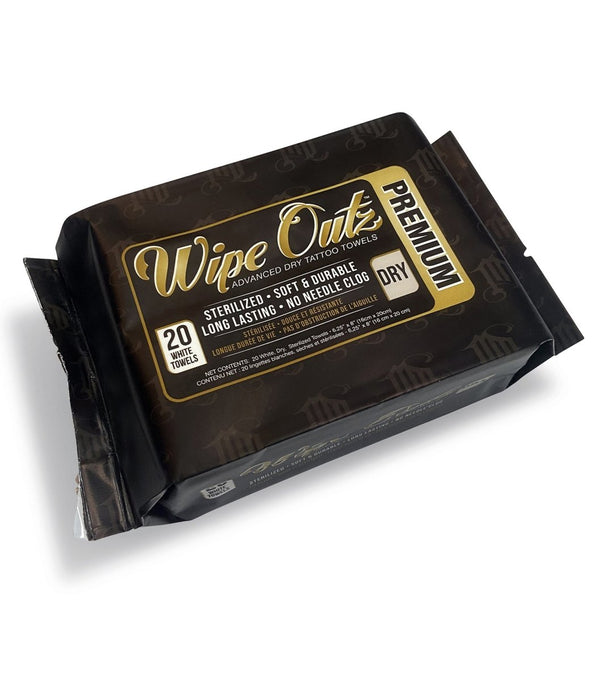 Wipe Outz NEW Dry White 20ct Packs - MD Wipe Outz