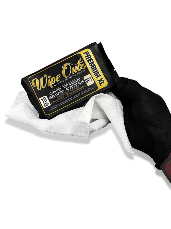 Wipe Outz NEW XL DRY White Towels - MD Wipe Outz