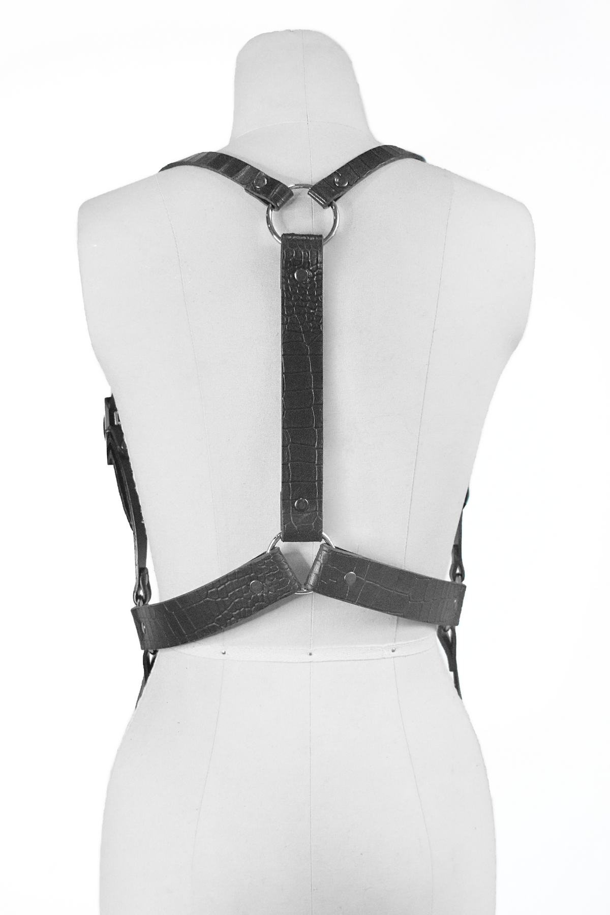 FAUX CROC HARNESS