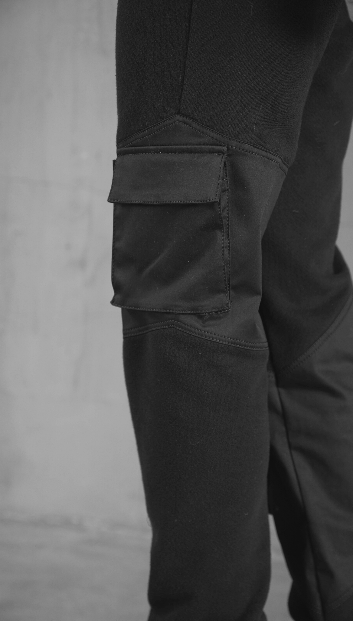 Cargo Patched Joggers