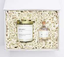 Classic Candle & Matches Gift Set