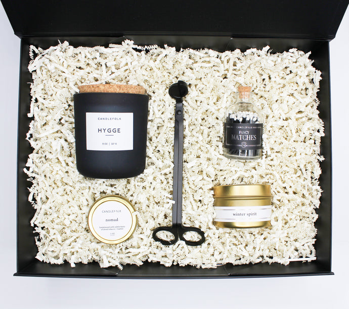 Deluxe Traveller Candle Gift Set