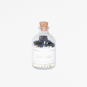 Apothecary Matches - BLACK