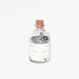 Apothecary Matches - GREY
