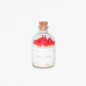 Apothecary Matches - RED