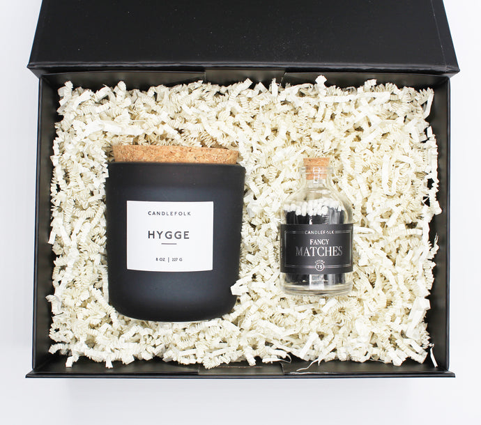 Traveller Candle & Matches Gift Set