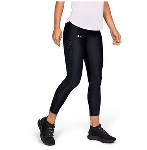 WOMEN'S UNDER ARMOUR FLY FAST RAISED THREAD CROP