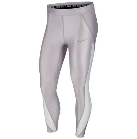 WOMEN'S NIKE POWER SPEED METALLIC 7/8 TIGHT