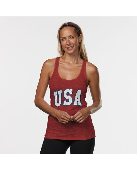 WOMEN'S R-GEAR USA GRAPHIC TANK