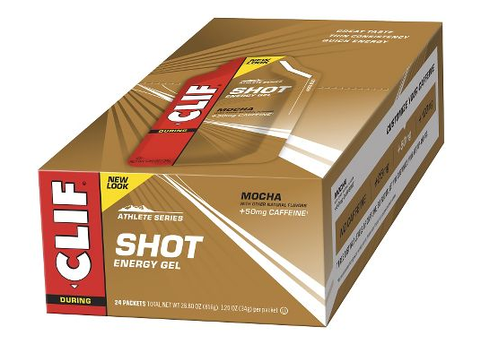 CLIF SHOT ENERGY GEL 24 PACK