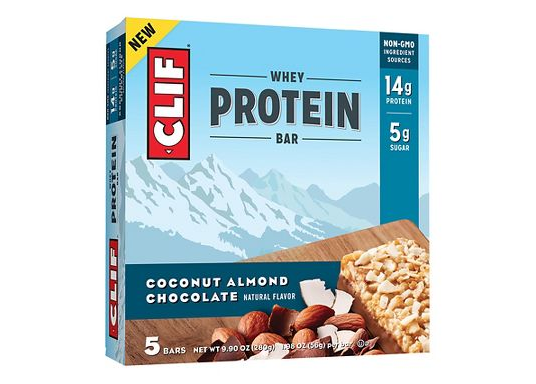 CLIF WHEY PROTEIN BAR 8 PACK