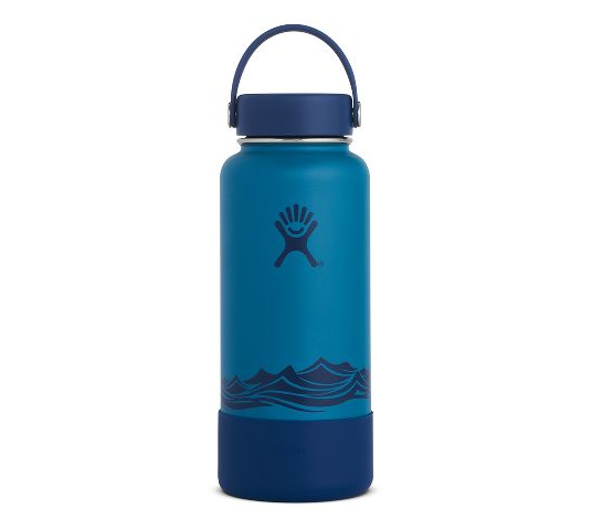 HYDRO FLASK ESCAPE COLLECTION 32 OUNCE WIDE MOUTH FLEX CAP WITH BOOT