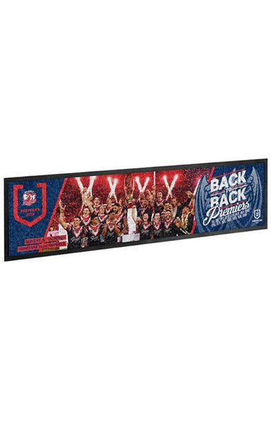 NRL Sydney Roosters Back 2 Back Bar Runner