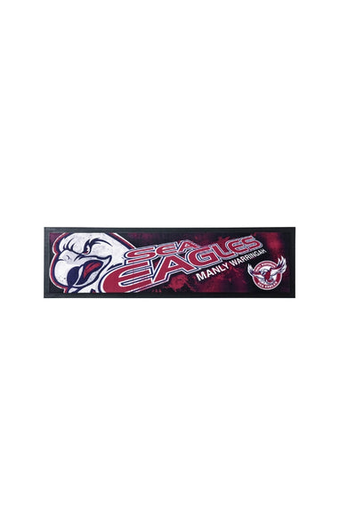 NRL Manly Sea Eagles Bar Runner