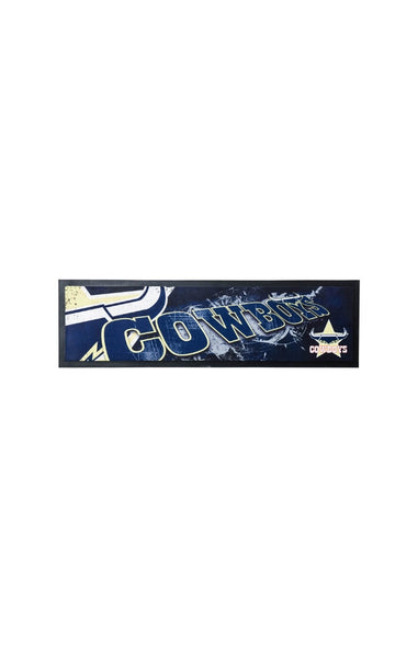 NRL North Queensland Cowboys Bar Runner