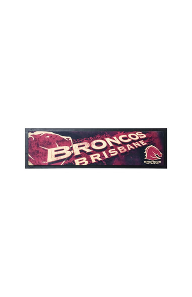 NRL Broncos Bar Runner