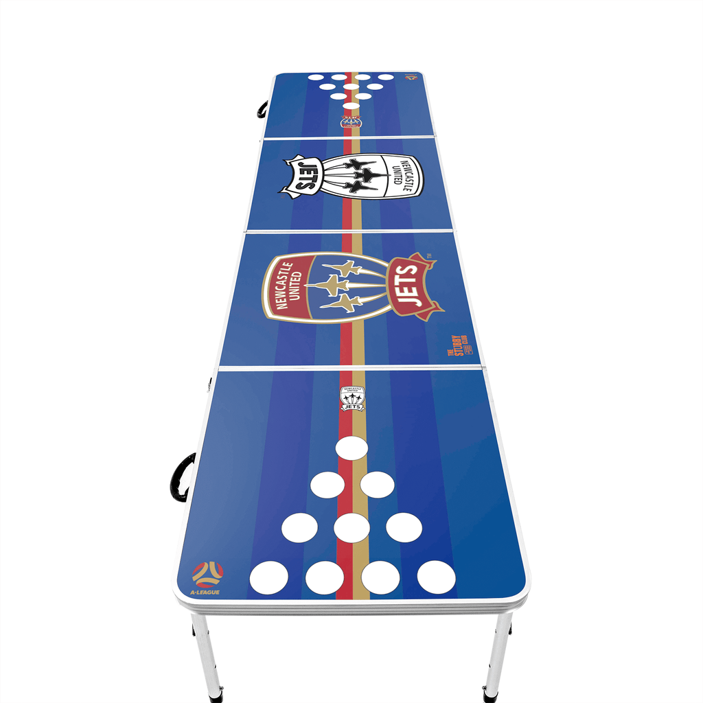 A-League Newcastle Jets Beer Pong Table