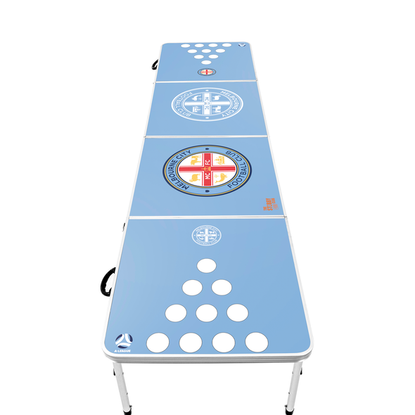A-League Melbourne City Beer Pong Table