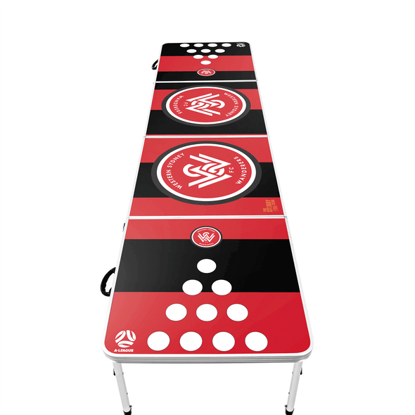 A-League Western Sydney Wanderers Beer Pong Table