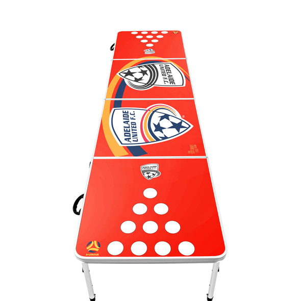A-League Adelaide United Beer Pong Table