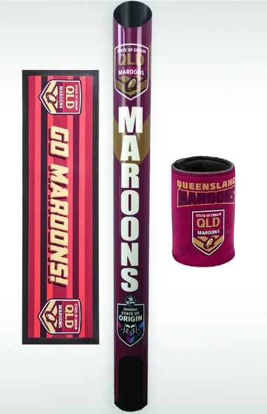 QLD Maroons Dispenser Pack
