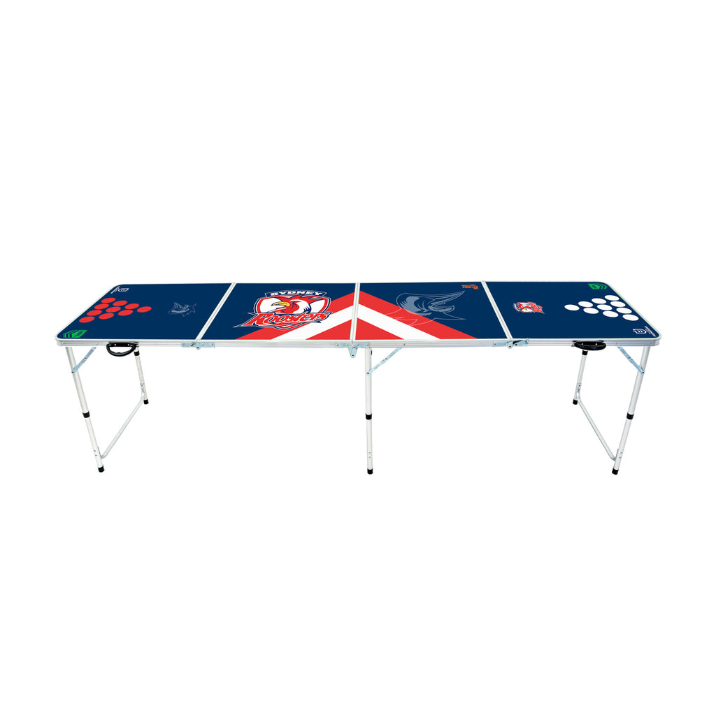 NRL Sydney Roosters Beer Pong Table