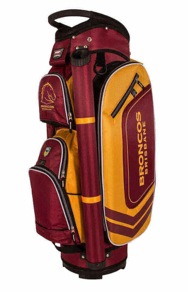 NRL BRISBANE BRONCOS GOLF BAG