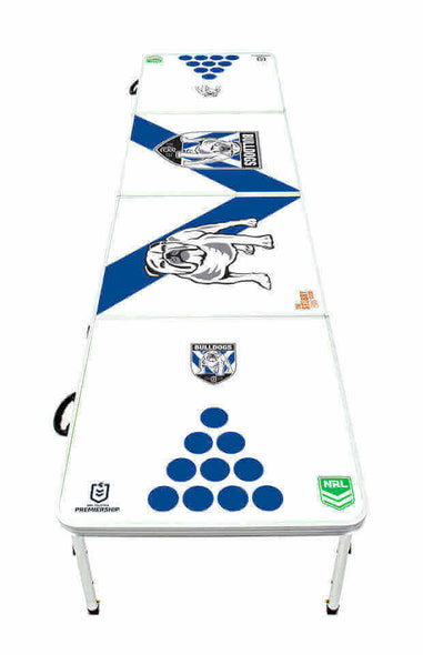 NRL Canterbury Bulldogs Beer Pong Table - PRE ORDERS