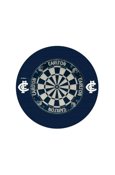 CARLTON BLUES AFL DARTBOARD SURROUND