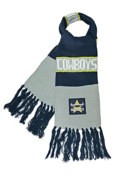 NRL NORTH QUEENSLAND COWBOYS BAR SCARF