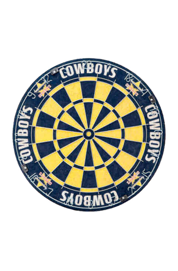 NRL North Queensland Cowboys Dartboard + Cabinet