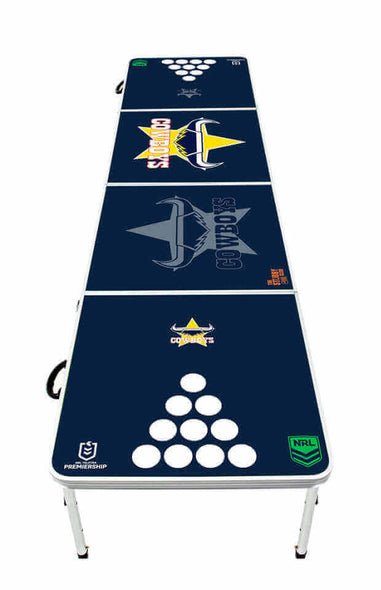 NRL North Queensland Cowboys Beer Pong Table - PRE ORDERS