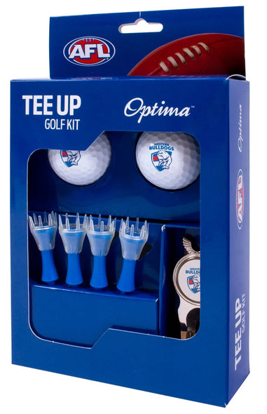WESTERN BULLDOGS AFL TEE UP GIFT PACK
